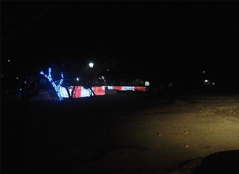阿鲁巴城市照明案例